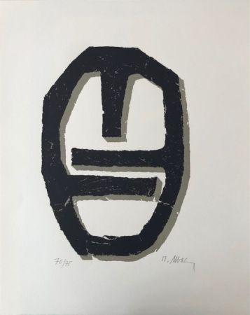Lithographie Ubac - Empreinte