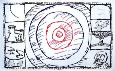 Gravure Alechinsky - En Espagne