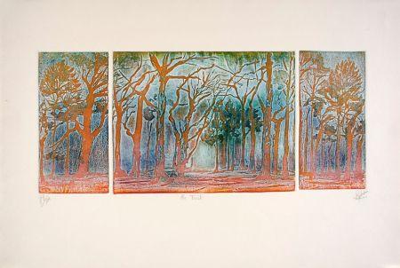 Eau-Forte Et Aquatinte Robert - En forêt