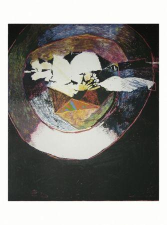 Lithographie Balas - En marge du goût de J. A. Brillat-Savarin V
