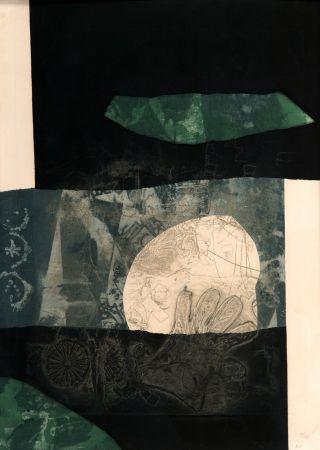 Carborundum Clavé - En noir et vert