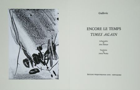 Livre Illustré Baltazar - Encore le temps