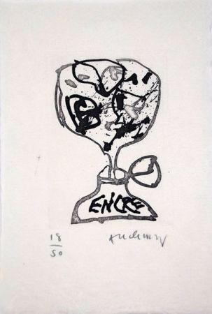 Livre Illustré Alechinsky - Encre (Lettre Suit -