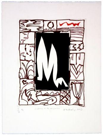 Gravure Alechinsky - Enfance de la Majuscule