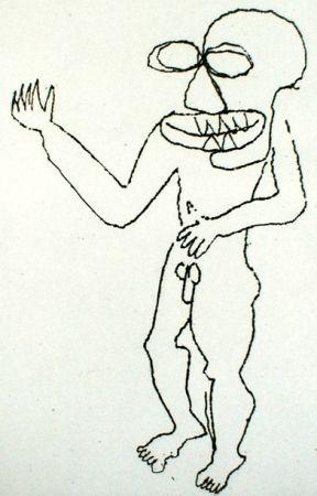 Gravure Calder - Enfant