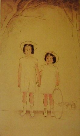 Gravure Marcoussis - Enfants Muhlstein