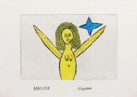 Gravure Hauser - Engel (Angel)