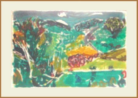 Gravure Heindorff - English Landscape Series 4