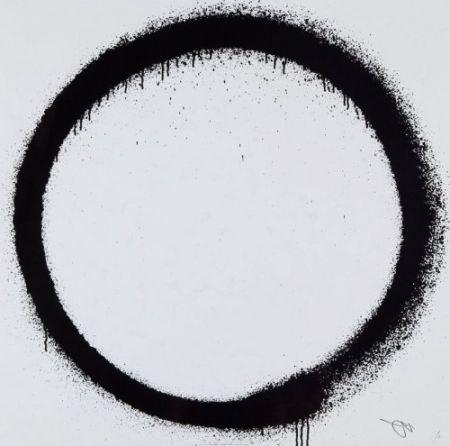 Lithographie Murakami - Enso: Tranquility,