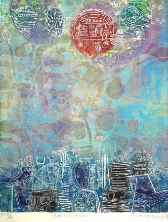 Eau-Forte Et Aquatinte Hasegawa - Entre ciel et mer