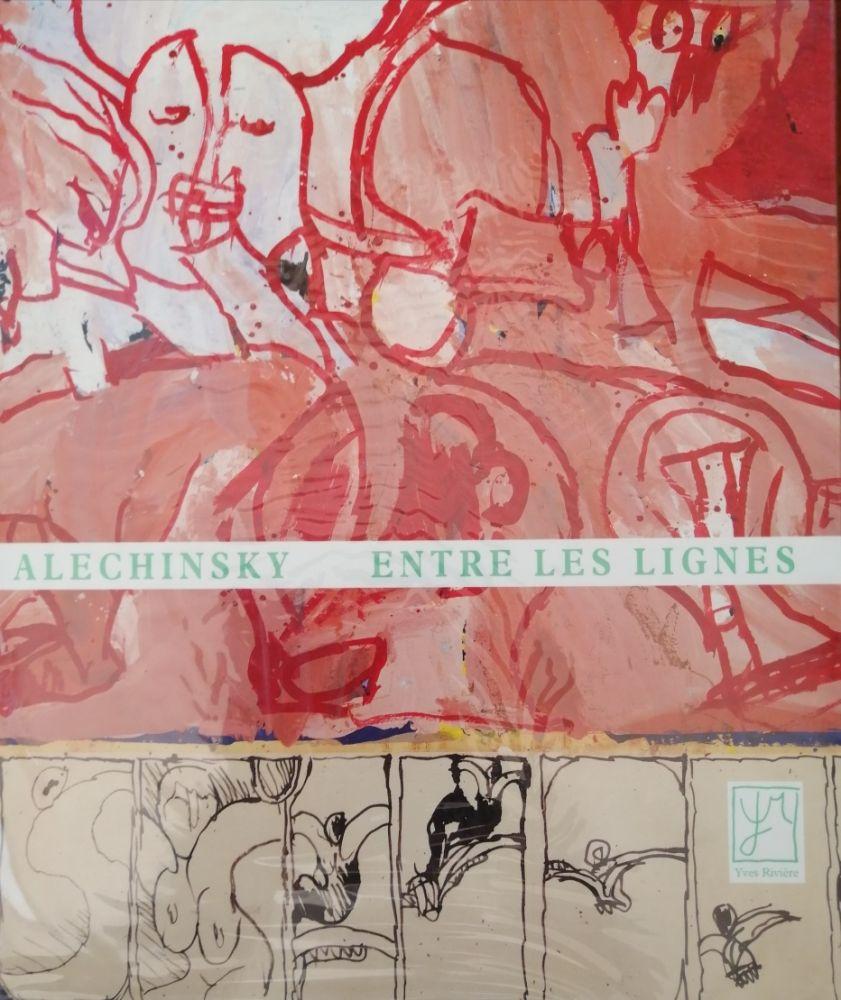 Livre Illustré Alechinsky - Entre les lignes