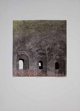 Eau-Forte Et Aquatinte Vernunft - Entro le mura