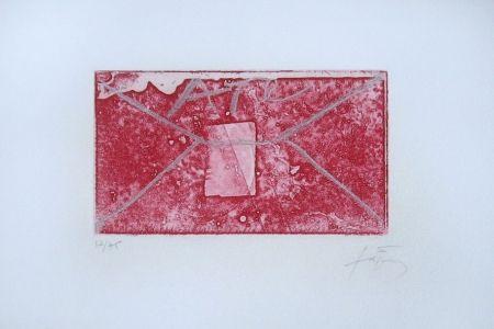 Gravure Tàpies - Enveloppe