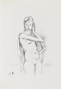 Livre Illustré Auberjonois - Enveloppes.  20 lithographies originales de René Auberjonois