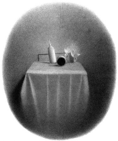Lithographie Ferroni - Equilibri instabili