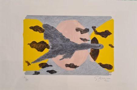 Lithographie Braque - Equinoxe