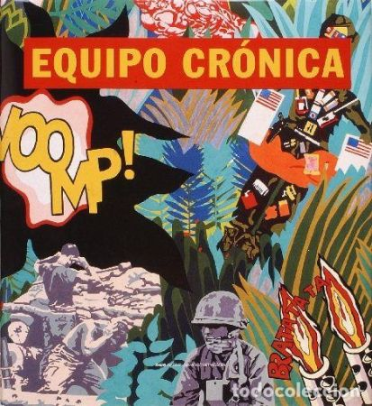 Livre Illustré Equipo Cronica - Equipo Cronica Catálogo razonado