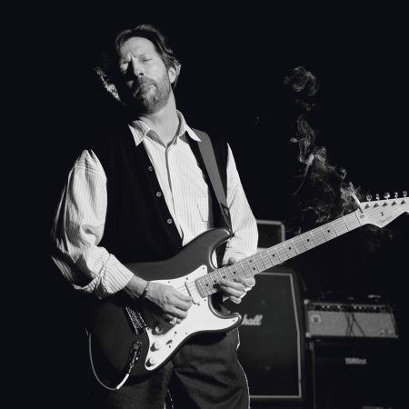 Photographie O'neil - Eric Clapton, B&W