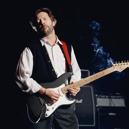 Photographie O'neil - Eric Clapton, color