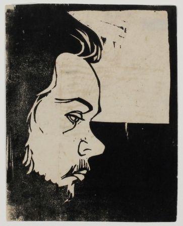 Gravure Sur Bois Kirchner - Erich Heckel