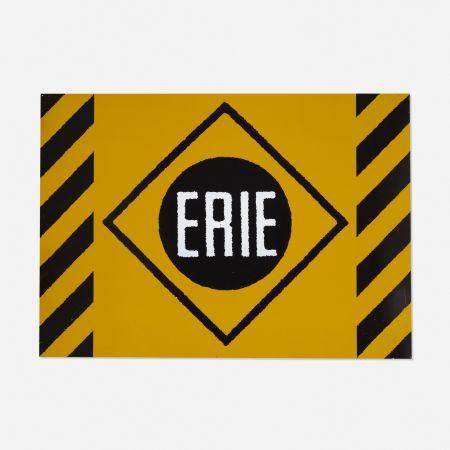 Sérigraphie Cottingham - Erie Railroad