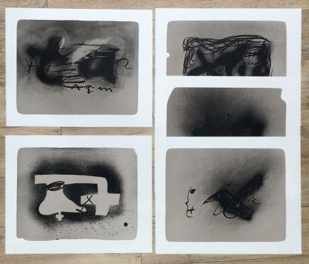 Lithographie Tàpies - Erinnerungen