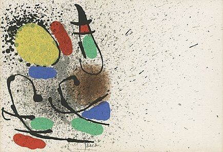 Livre Illustré Miró -