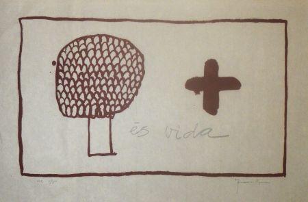 Linogravure Hernandez Pijuan - Es Vida