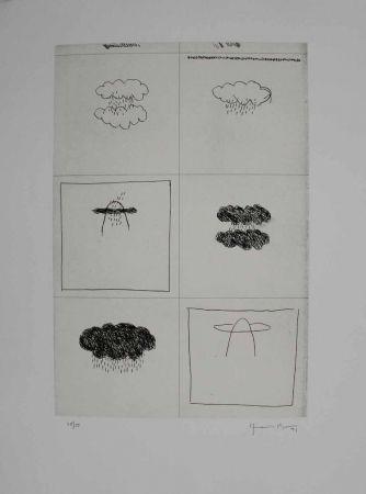 Gravure Hernandez Pijuan - Esbós (