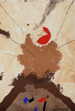 Lithographie Guinovart - Esclat ocell
