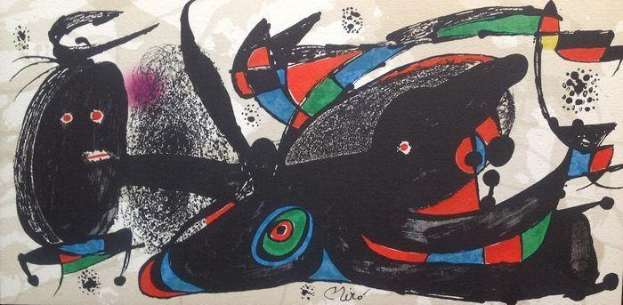 Lithographie Miró - Escultor : Gran Bretaña
