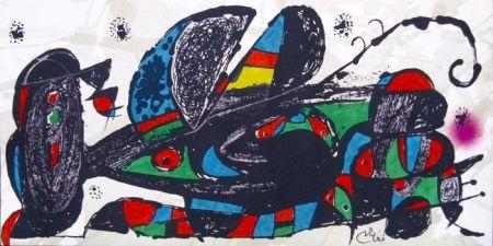 Lithographie Miró - Escultor : Irán
