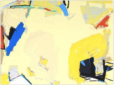Sérigraphie Capa - Espacio Amarillo