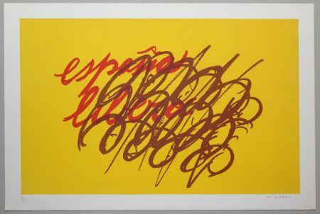 Lithographie Turcato - Espana libera