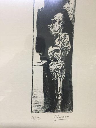 Lithographie Picasso - Espectadores