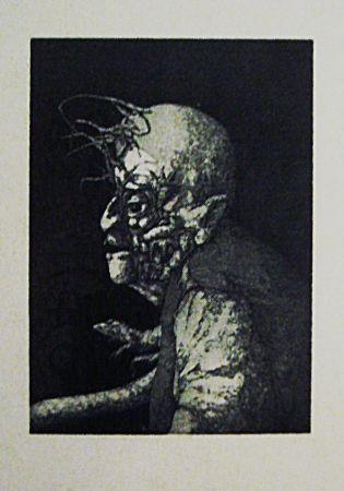 Eau-Forte Et Aquatinte Hernandez - Espectro del miedo