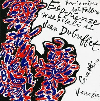 Livre Illustré Dubuffet - Esperienze musicali di Jean Dubuffet