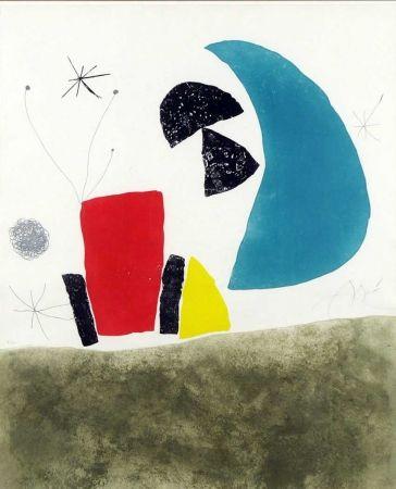 Gravure Miró - Espriu