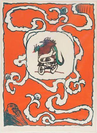 Lithographie Alechinsky - Estampe de l'affiche