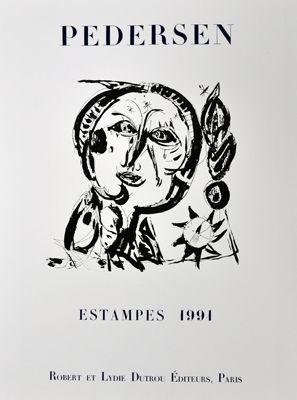 Affiche Pedersen - Estampes 1991