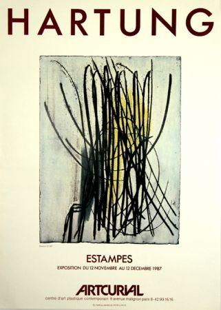 Offset Hartung - Estampes  Artcurial