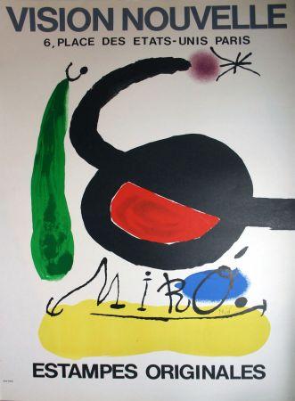 Lithographie Miró - '' Estampes Originales '' Vision Nouvelle