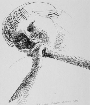 Lithographie Greco - Estasi n.2