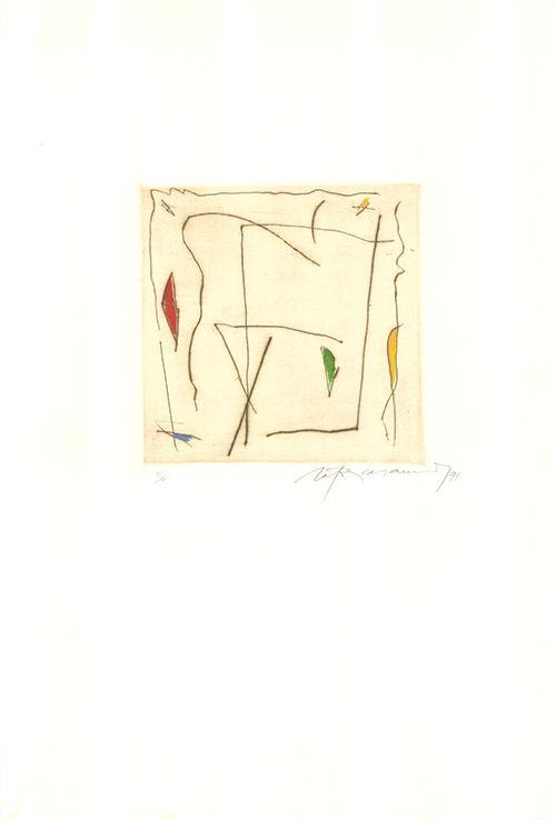 Gravure Ràfols Casamada - Estels 5