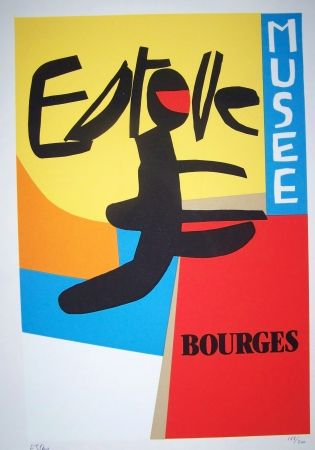 Lithographie Esteve - Esteve musée de bourges