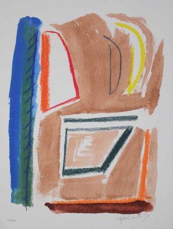 Lithographie Ràfols Casamada - Estructures 1