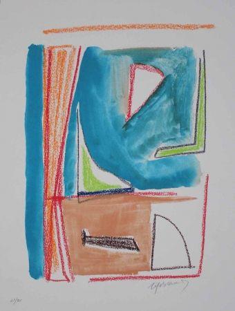 Lithographie Ràfols Casamada - Estructures 2