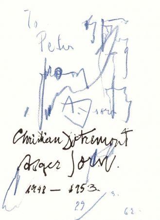 Livre Illustré Jorn - Et DOTREMONT (Christian). La Chevelure des choses.