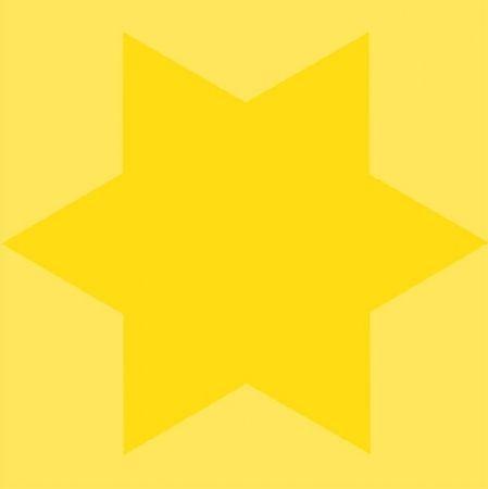 Sérigraphie Mosset - Etoile jaune