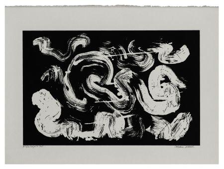Sérigraphie Verdier - Etude de la coiffe de Margareta ou la pensée labyrinthique